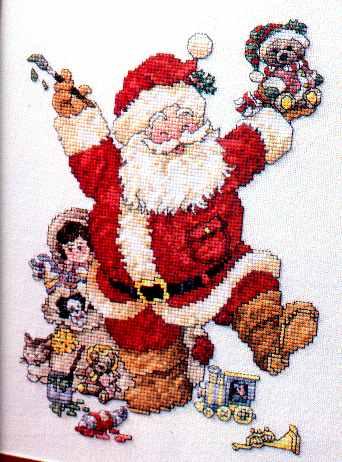 vermillion christmast stocking